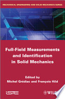 Full Field Measurements and Identification in Solid Mechanics