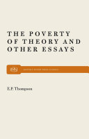 download ebook poverty of theory pdf epub