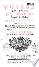 Voyage du tour du monde, traduit de l'italien de Gemelli Careri, par M. L. N.