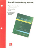 Loose Leaf for Statistics for Engineers and Scientists