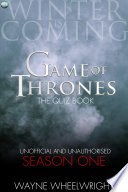 download ebook game of thrones the quiz book - season one pdf epub