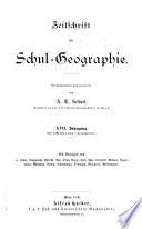 Zeitschrift für Schul-Geographie