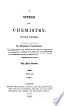 A System of Chemistry in Four Volumes