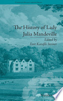 The History Of Lady Julia Mandeville