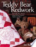 Teddy Bear Redwork