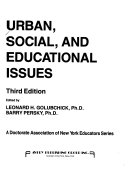 Urban  Social  and Educational Issues