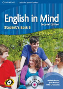 ENGLISH IN MIND 5 STUDENT S BOOK   DVD