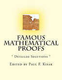 Famous Mathematical Proofs
