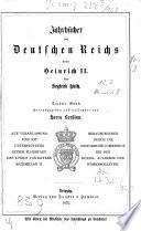 Jahrb  cher des Deutschen Reichs unter Heinrich II