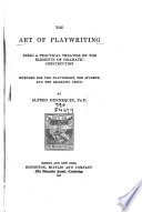 The Art Of Play Writing book