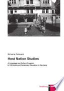 Host Nation Studies