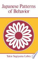 Ebook Japanese Patterns of Behaviour Epub Takie Sugiyama Lebra Apps Read Mobile