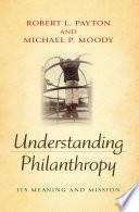 Understanding Philanthropy