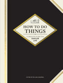 How to Do Things Book