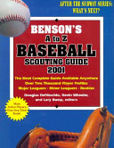 John Benson's A to Z baseball scouting guide, 2001