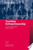 Teaching Entrepreneurship