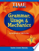 Grammar, Usage, and Mechanics, Level 5