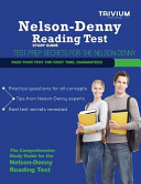 Nelson Denny Reading Test Study Guide  Secrets to Outsmart the Exam