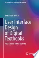 User Interface Design Of Digital Textbooks book