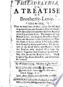 download ebook philadelphia, or, a treatise of brotherly-love, etc pdf epub