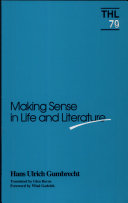 Making Sense in Life and Literature