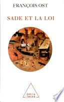 illustration du livre Sade et la loi