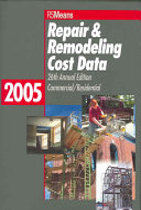 Repair   Remodeling Cost Data 2005