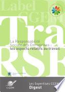 illustration La Responsabilité Sociale des Entreprises : les aspects relatifs au travail