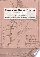 Mtoro bin Mwinyi Bakari Of Mtoro Bin Mwinyi Bakari C 1869
