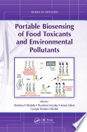 Portable Biosensing of Food Toxicants and Environmental Pollutants