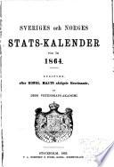 Sveriges och Norges statskalender