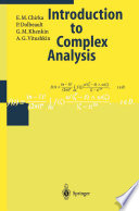 Introduction to Complex Analysis