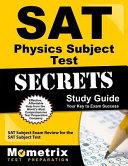 Sat Physics Subject Test Secrets Study Guide