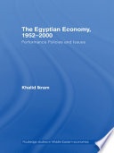 The Egyptian Economy  1952 2000