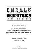 Annali Di Geofisica book