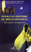 Pour une histoire du développement