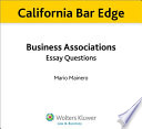 California Bar Edge