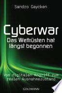 Cyberwar   Das Wettr  sten hat l  ngst begonnen