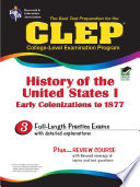CLEP History of the United States I