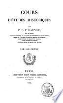 Cours d   tudes historiques