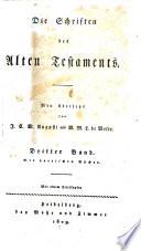 Die Schriften des Alten Testaments  Bd  Die poetischen B  cher
