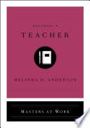 Book Becoming a Teacher