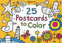 25 Postcards to Color