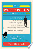The Well Spoken Thesaurus