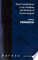 Final Contributions to the Problems and Methods of Psycho-analysis