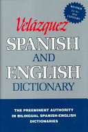 New Revised Vel  zquez Spanish and English Dictionary