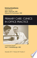 Immunizations An Issue Of Primary Care Clinics In Office Practice E Book