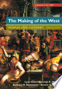 The Making of the West  Volume 1