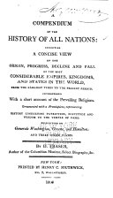 A Compendium of the History of All Nations