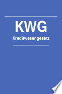 Kreditwesengesetz Kwg